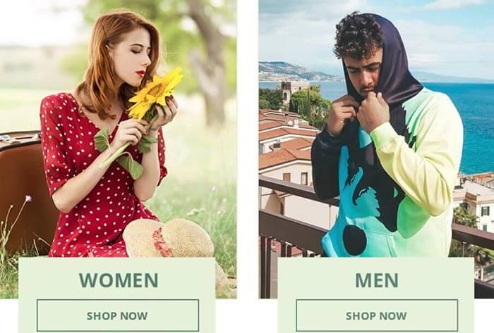 Женская, мужская и детская одежда. Интернет-магазин - DressLily.