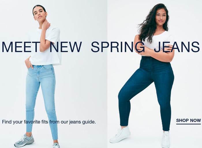 Одежда в американском повседневном стиле. Интернет-магазин - Gap.