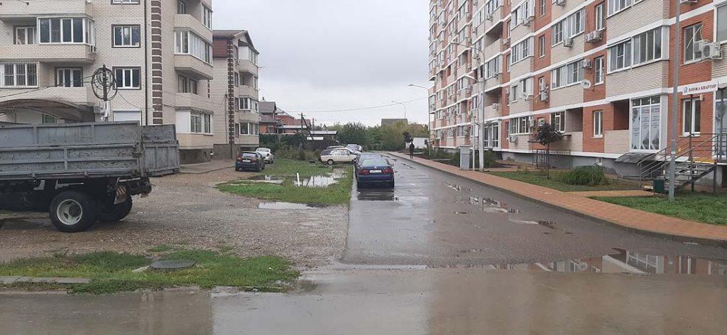 Белозёрная улица, г. Краснодар