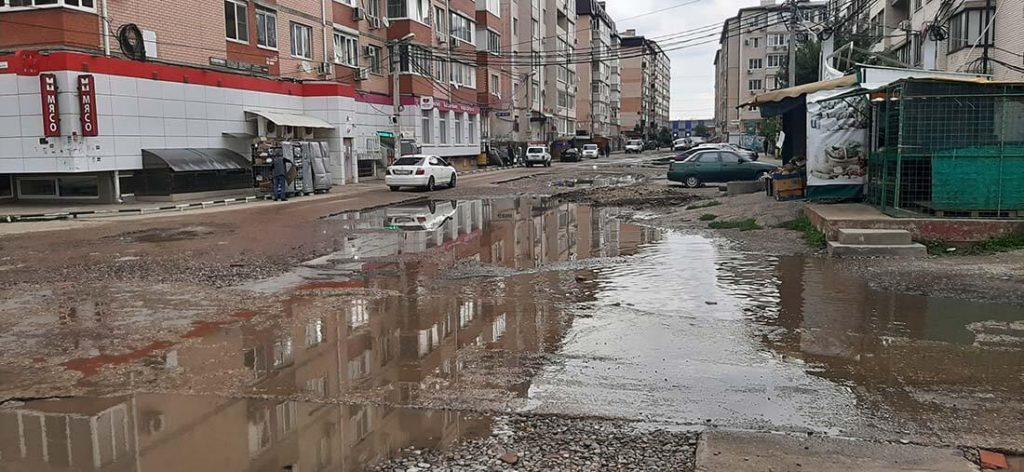 улица Рахманинова Музыкальный микрорайон, г. Краснодар