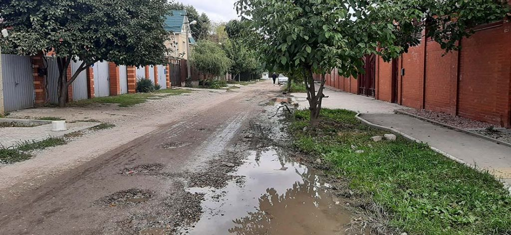 улица им. Шаляпина Ф.И. г.Краснодар