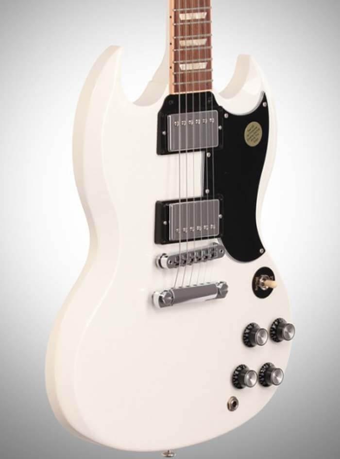 Оригинальная версия гитары Gibson 2014 SG Alpine White