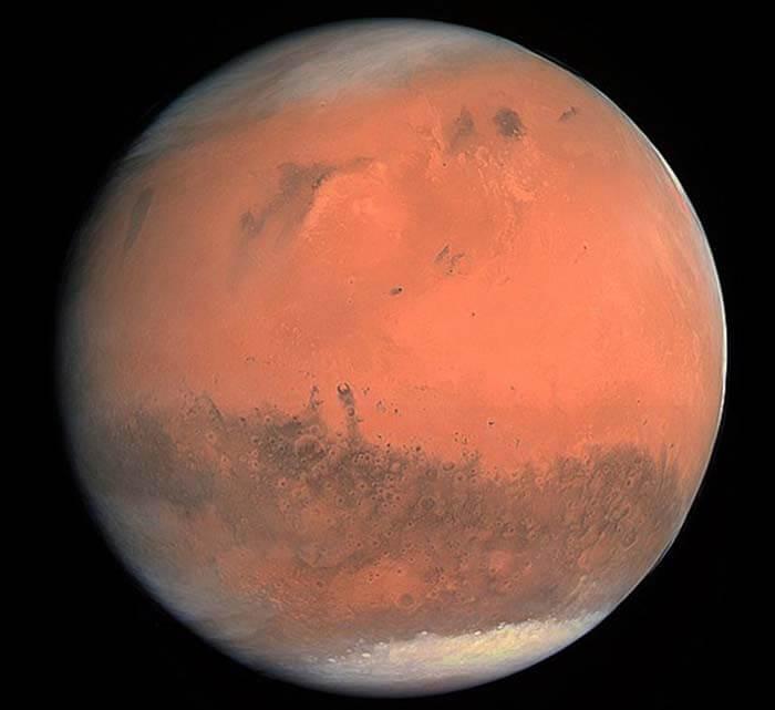 Марс в реальных цветах. © ESA/MPS/UPD/LAM/IAA/RSSD/INTA/UPM/DASP/IDA